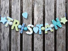 Die 21 besten Bilder von holzbuchstaben | Little people, Names und ...