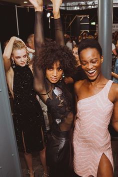 Behind-the-scenes at Topshop Unique during London Fashion Week. Photographed by Driely S.