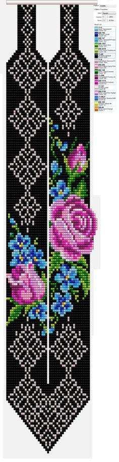 Bead Loom Patterns, Beading Patterns, Cross Stitch Patterns, Beaded Jewelry, Beaded Bracelets, Cross Stitch Bookmarks, Bane, Loom Beading, Bead Weaving