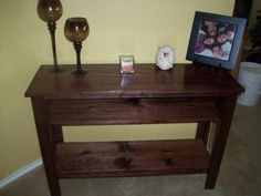 Entry way Table | Do It Yourself Home Projects from Ana White
