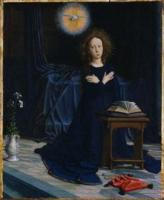 Gerard David, Annunciation (c. 1506)