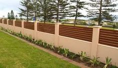 Image result for front fence corrugated iron timber