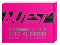 Korean DVD NU'EST THE SECOND MINI ALBUM SPECIAL EDITION[CD+PHOTOBOOK+DVD(code ALL)][sales on Feb 14] #$36.50 on kstargoods.com (The best kpop shop)