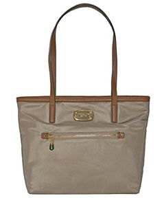 Michael Kors Montauk Nylon MD Tote Bag Handbag Purse Dusk -- You can find  more f1b4bab0bf06e