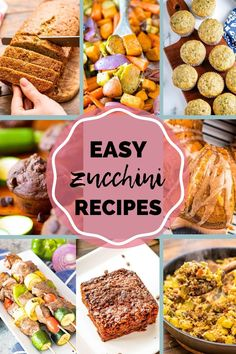 If you love Zucchini you have come to the right place! Need fresh ideas for using up all that garden zucchini? These recipes are easy and delicious. Everything from muffins, cakes, side dishes and dessert. #zucchini #recipes Healthy Zucchini, Zucchini Cake, Budget Meals, Family Meals, Food To Make, Delish, Side Dishes, Muffins, Dinner Recipes