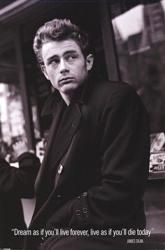 I want a James Dean in my life, too much to ask for or maybe they don't make 'em like they used to?? A classy 50's gentleman <3