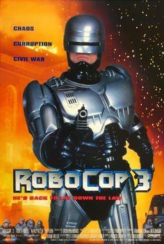 RoboCop 3 movie poster