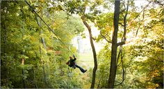 Canopy tour at Spring Mountain!  Spring is coming and you can enjoy the mountain without the snow...