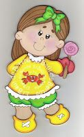 Resultado de imagen para medidor de niños en goma eva Holly Hobbie, Lupe, Foam Crafts, Precious Moments, Paper Piecing, Princess Peach, Smurfs, Origami, Hello Kitty