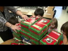 Izabella McMillon received an Operation Christmas Child shoebox when she was 13 living in Romania.  Now a schoolteacher in the US, she is helping to pack over 1000 to give back.