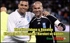 Ronaldo ve Zidane efsanesi asla unutulmaz. Bu efsane golcü ve futbolcuların mükemmel videosunu izleyebilirsiniz. Bunun yanında bu futbolcular hakkında ana bilgileri de aşağıda sizlere sunuyorum