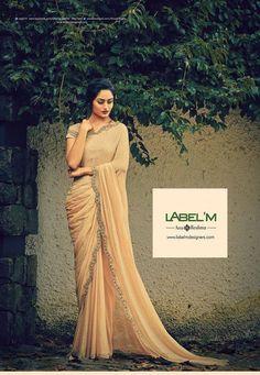 Designer saree by Label'M