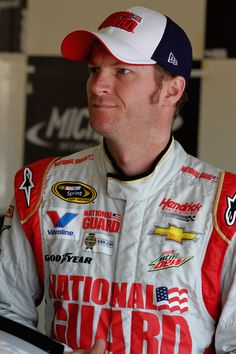 Dale Earnhardt Jr. Photos - Michigan International Speedway: Day 1 - Zimbio