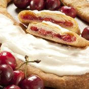 Kringle Favorites - O&H Danish Bakery of Racine Wisconsin (Cherry Kringle)