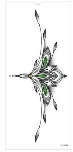 Waterproof Temporary Tattoo sticker body art henna waist breast chest mandala tatto stickers flash tatoo fake tattoos for women Girl Back Tattoos, Fake Tattoos, Trendy Tattoos, Unique Tattoos, Body Art Tattoos, New Tattoos, Small Tattoos, Sleeve Tattoos, Henna Tattoos