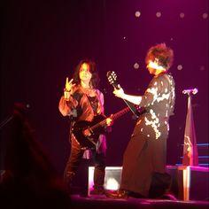 "<March 1>VAMPS LIVE 2015 ""BLOODSUCKERS"" @Osaka-Jo Hall (Osaka) #VAMPS #VAMPSJPN #HYDE #KAZ #LIVE #2015 #VAMPS2015 (c)vamps666_9ketsu"