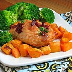 Chipotle-Glazed Roast Chicken by alidaskitchen