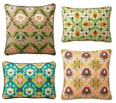 Floral patterned pillow perfection