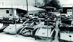Corvette bone yard