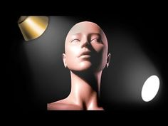 Face Lighting Reference - Female and Male Heads - YouTube