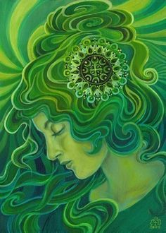 Contemporary artist Emily Balivet does some nice images in the Pre-Raphaelite and Art Nouveau style.