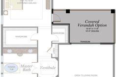 Somerset Grande Plan   Florida Real Estate - GL Homes Concrete Roof Tiles, Undermount Stainless Steel Sink, Modern House Floor Plans, Iron Balusters, Glass Shower Enclosures, Wood Stairs, House Elevation, Bedroom Loft, Tile Design