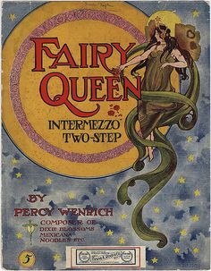 Vintage Sheet Music Fairy-queen