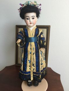 RARE 1884 Antique Japanese Asian Chinese 4900 Schoenau Hoffmeister Geisha Doll | eBay