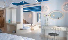 inside Greek Villa