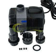 Pumps Water 77641: 160-4200 Gph Adjustable Submersible Water Pump Aquarium Pond Sump 600-16000 L/H BUY IT NOW ONLY: $91.19
