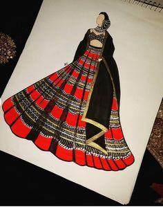 Fashion Illustration Sketches, Fashion Sketches, Black Shades, Girly Drawings, Illustrators, Designer Dresses, Aurora Sleeping Beauty, Disney Princess, Fabric