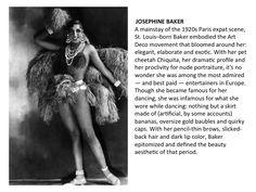 1920's Fashion Icons.