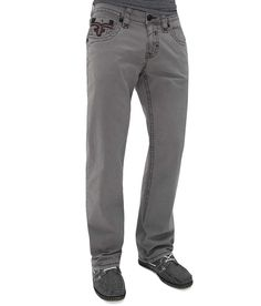 Rock Revival Twill Relaxed Straight Pant - Men's Pants | Buckle