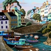 Roundstone, by George Callaghan via callaghanprints.com