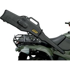 "MOOSE UTILITY DIVISION GUN BOOT WITH BRACKET.  The most economical way to mount a gun boot on your ATV - all in one convenient package. This gun boot model includes a removable, shock-absorbing foam and nylon impact liner that provides superior interior protection within the hard case.  ""VISIT SITE"" ABOVE FOR ALL INFO."