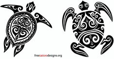 55 Cool turtle tattoo designs, photos and ideas. Do you know the symbolic meaning of turtle tattoos? Check out these tribal, Polynesian, Hawaiian and sea turtle designs. Tribal Turtle Tattoos, Polynesian Tribal Tattoos, Turtle Tattoo Designs, Animal Tattoos, Polynesian Designs, Polynesian Art, Ta Moko Tattoo, Hawaiianisches Tattoo, Samoan Tattoo