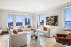 River House River-View Rambler  ...   435 East 52nd Street 7A1, Midtown East, NYC, Represented exclusively by Brian Lewis. See more eye candy on this home at http://www.halstead.com/16244890