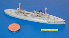 """Linienschiff S.M.S. """"Wörth"""" der Brandenburg-Klasse (Navis 14) 1:1250"""