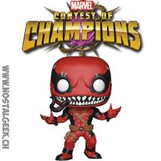 Figurine Funko Pop Games Marvel Contest of Champions VenomPool geek. Funko Pop, Contest Of Champions, Bd Comics, Pop Games, Manga, Deadpool, Mickey Mouse, Disney Characters, Fictional Characters