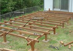 ウリンウッドデッキの気になるお値段 価格表でわかりやすく Shed Floor, Floor Framing, Japanese Woodworking, Deck With Pergola, Wooden Decks, Building A Shed, Garden Bridge, My House, Backyard