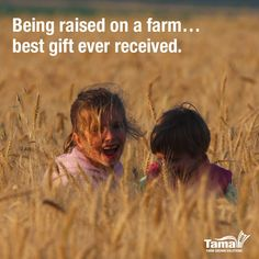 Repin if you also think there's nothing quite like growing up on a farm.