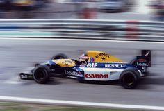 Nigel Mansell  Williams - Renault 1992