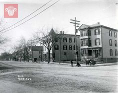 Park Avenue, c. 1896-1916, Worcester Massachusetts. Photograph from the William Bullard Collection at Worcester Historical Museum. Want a copy of this photo? >Visit our rights and reproductions page for more information.