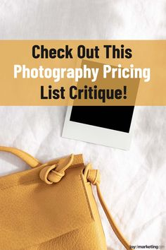 One of the scariest things about running a photography business is figuring out your photography pricing.Once you've done all the math and know how to profitably price your photography, the next step is to present and display your prices so that your clients see you're worth what you're asking to be paid.Below, I'm critiquing the photography pricing list of one of my Simplified Photography Pricing Formula students, Ciera Kizerian. Photography Price List, Teeth Straightening, Photography Business, Professional Photographer, Joy, Fotografie, Glee, Being Happy, Professional Photography