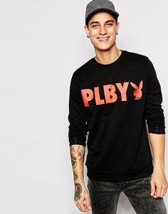 ASOS Sweatshirt With Playboy Print