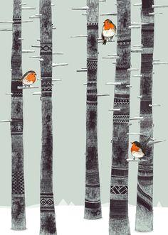 Sandra Dieckmann: ROBIN TREES