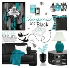"""""""Modern Christmas"""" by truthjc ❤ liked on Polyvore featuring interior, interiors, interior design, home, home decor, interior decorating, Dot & Bo, Betsey Johnson, Kosta Boda and L.L.Bean"""