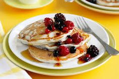 #fitliferecipes #recipe for Berry good pancakes
