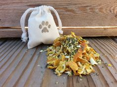 Organic Herb Sachets In Muslin Bags Citrus by SunnyBunnyGardens