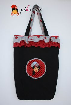 www.pikapic.es Bolsa para clases de baile flamenco.